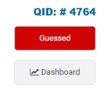 "COMQUEST mark as ""Guessed"" Feature"