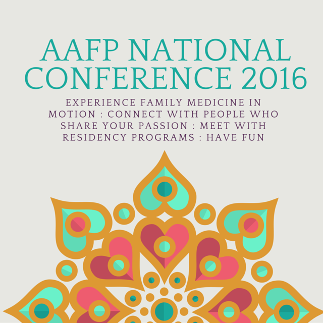 AAFP National Conference 2016