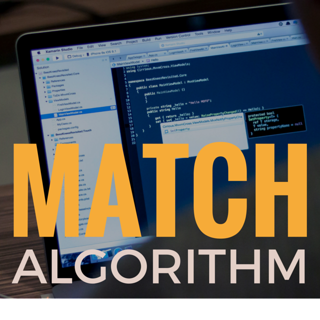 The Match Algorithm