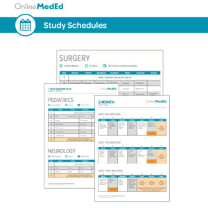 Free study schedules to guide your video use!
