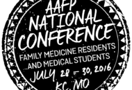 2016 AAFP National Conference!