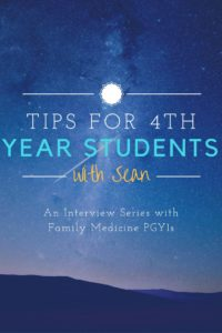 Tips for Fourth Year Students