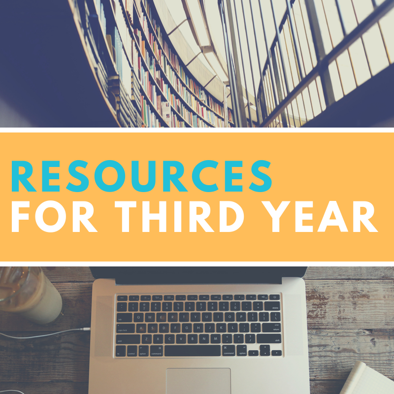 Resources for Third Year Students