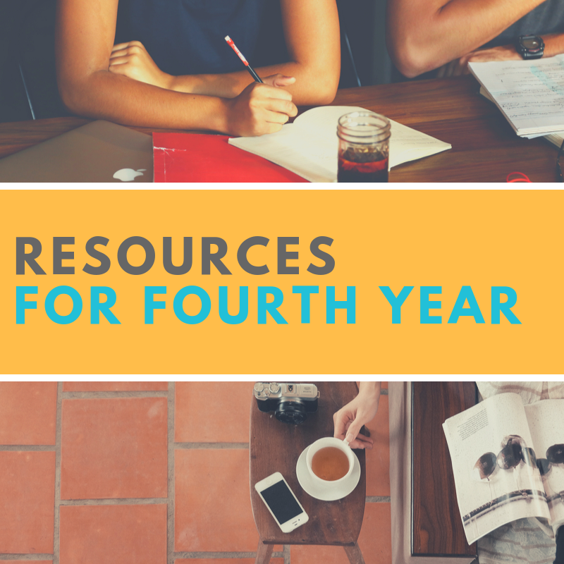 Resources for Fourth Year Students